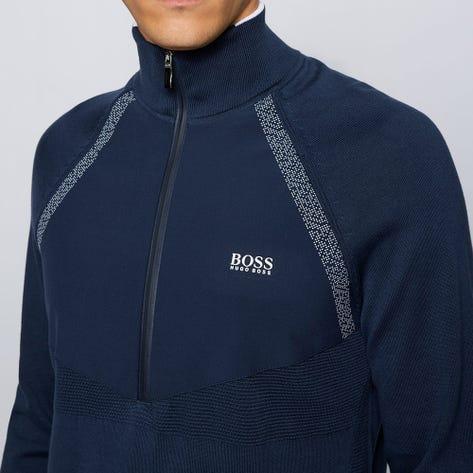 BOSS Golf Pullover - Zaxel Hybrid QZ - Nightwatch FA21
