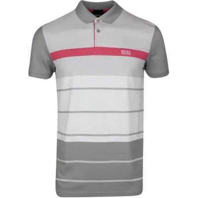BOSS Golf Shirt - Paddy 5 - Mid Grey SP21