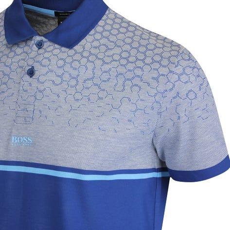 BOSS Golf Shirt - Paddy 7 Regular - Limoges Blue FA21