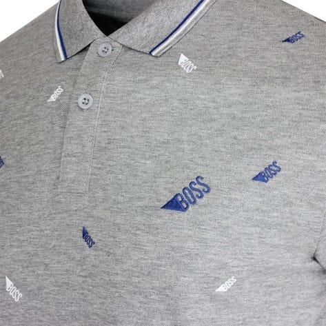 BOSS Golf Shirt - Paddy 8 - Grey Melange FA20