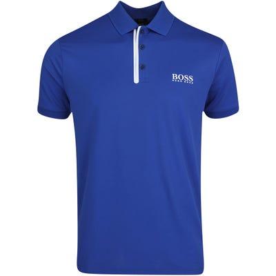 BOSS Golf Shirt - Paddy MK 1 Slim - Monaco Blue FA21
