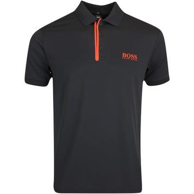 BOSS Golf Shirt - Paddy MK 1 Slim - Black FA21