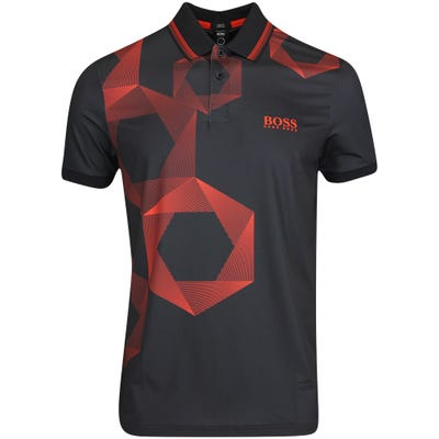 BOSS Golf Shirt - Paddy MK 2 Slim - Black FA21