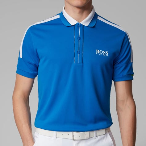 BOSS Golf Shirt - Paddy MK - Lapis Blue SP20
