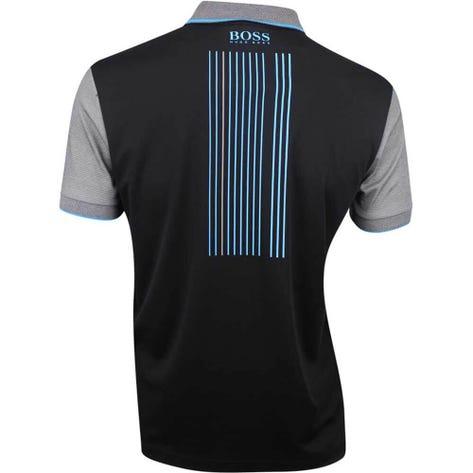 BOSS Golf Shirt - Paddy Pro 2 - Black SP19