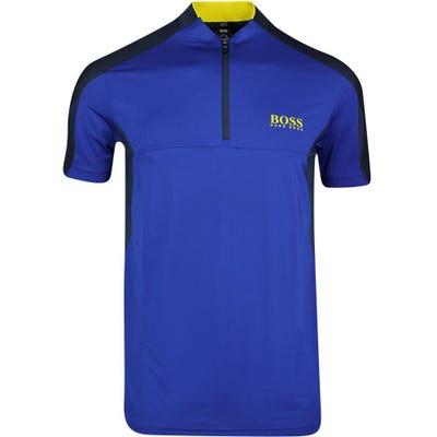 BOSS Golf Shirt - Pariq 2 - Sodalite Blue SP21
