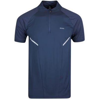 BOSS Golf Shirt - Pariq Slim - Nightwatch FA21