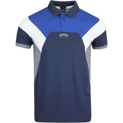 BOSS Golf Shirt - Paule 1 Slim - Nightwatch FA21