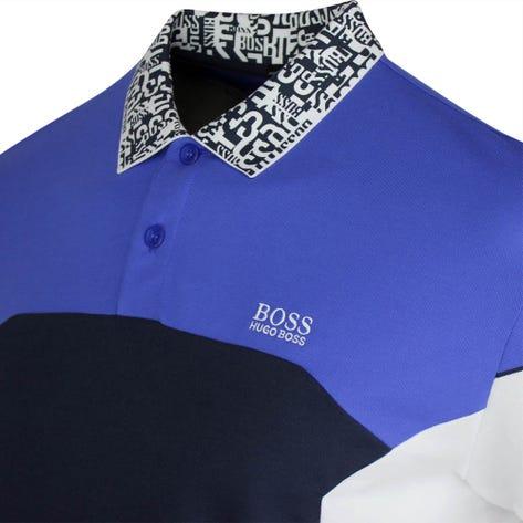 BOSS Golf Shirt - Paule 2 - Dazzling Blue PS21