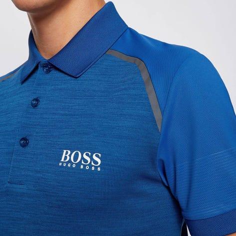 BOSS Golf Shirt - Paule 7 - Monaco Blue FA20