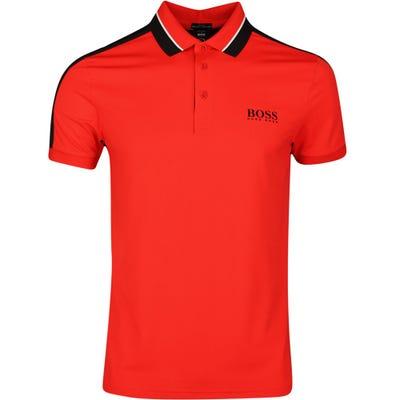 BOSS Golf Shirt - Paule MK 3 - Fiery Red SP21