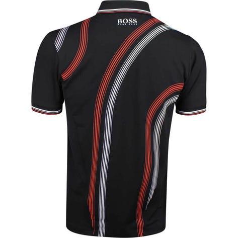 BOSS Golf Shirt - Paule Pro 2 - Black PS19