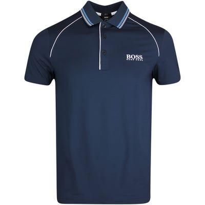 BOSS Golf Shirt - Pauletech Slim - Nightwatch FA21