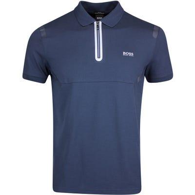BOSS Golf Shirt - Philix QZ - Nightwatch FA21