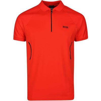 BOSS Golf Shirt - Philix - Fiery Red SP21