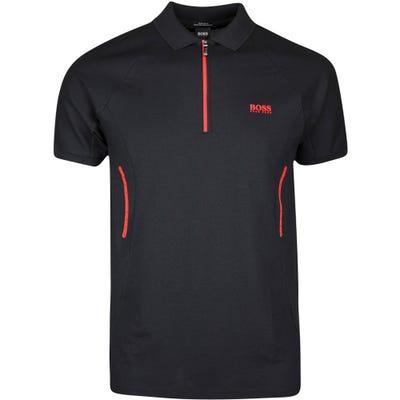BOSS Golf Shirt - Philix - Black SP21