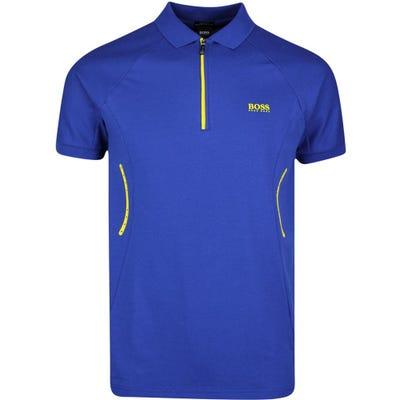 BOSS Golf Shirt - Philix - Sodalite Blue SP21