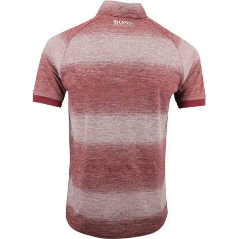 BOSS Golf Shirt - Plade Pro - Cabernet FA19