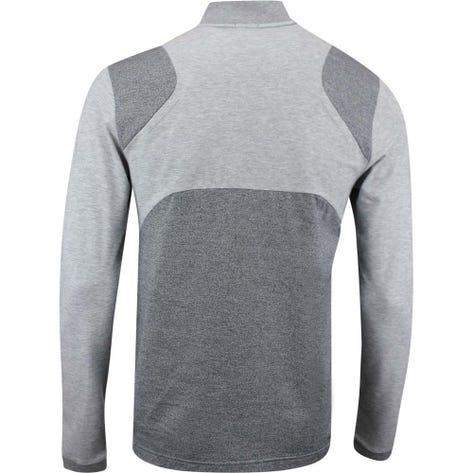 BOSS Golf Pullover - Piraq - Grey Melange FA19