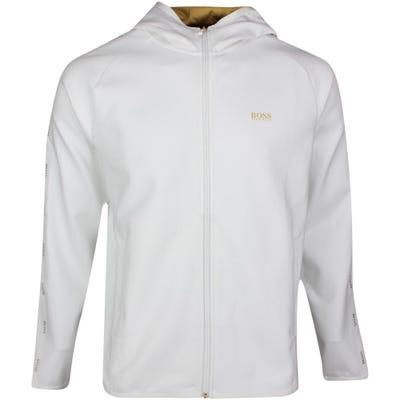 BOSS Golf Hoodie - Saggy 2 Gold - White SP21