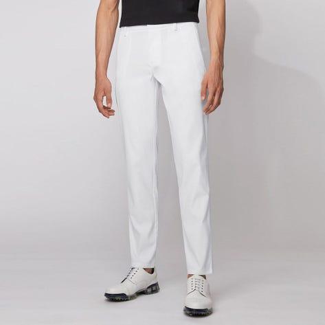 BOSS Golf Trousers - Spectre Tech Slim - White FA21