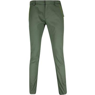 BOSS Golf Trousers - Rogan 4-1 Tech Chino - Dark Olive FA21