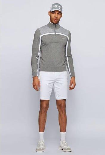 BOSS Golf - Grey Quarter Zip Zemi Sweater - Spring 2021