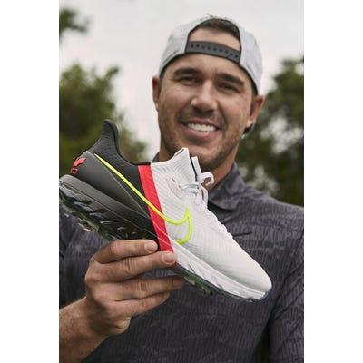 Brooks Koepka - Nike Air Zoom Infinity Tour Shoes - White - Pink - Black