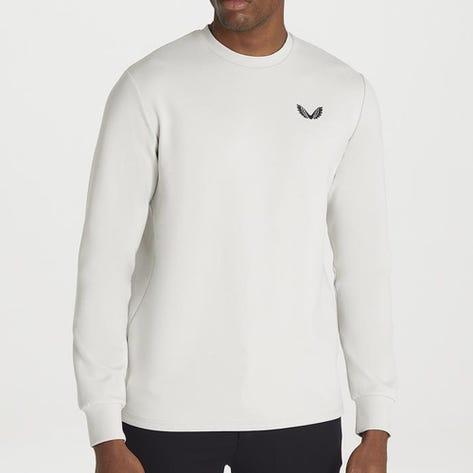 Castore Golf Jumper - Crew Neck Sweater - Light Grey AW21