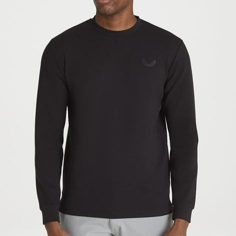 Castore Golf Jumper - Crew Neck Sweater - Black AW21