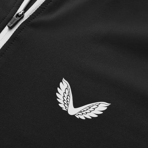 Castore Golf Pullover - Pro Tek QZ - Black AW21