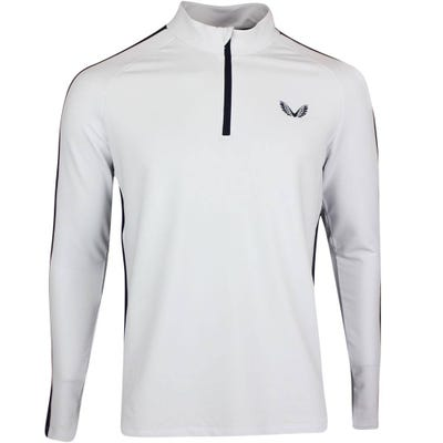 Castore Golf Pullover - Jersey Quarter Zip - White SS21