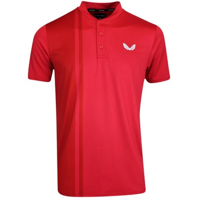 Castore Golf Shirt - Performance Blade Polo - Red SU21