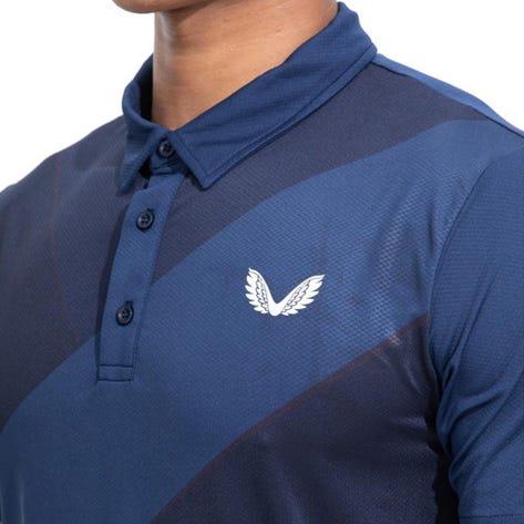 Castore Golf Shirt - Performance Cross Polo - Navy SU21