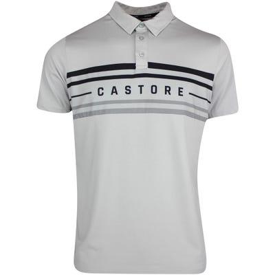 Castore Golf Shirt - Panel Printed Polo - Grey AW21