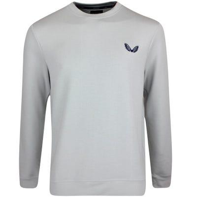 Castore Golf Jumper - Crew Neck Sweater - Light Grey SS21