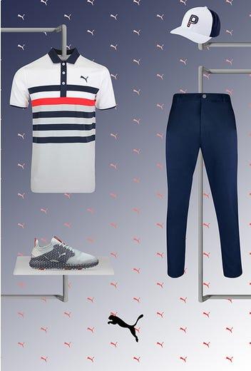 Chris Baker - US Open Friday - PUMA Golf Shoes 2021