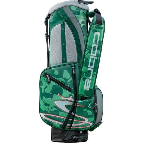 COBRA PUMA Golf Stand Bag - Union Camo Vessel - Green LE 2019