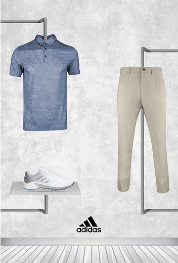 Collin Morikawa - US PGA Friday - adidas Camo Golf Shirt 2021