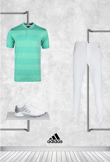 Collin Morikawa - PGA Championship Saturday - Mint adidas Polo 2021