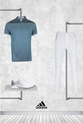 Daniel Berger - PGA Championship Sunday - adidas Micro Dot Polo 2021