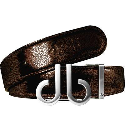 Druh Golf Belt - Stingray Tour Leather - Dark Brown 2021