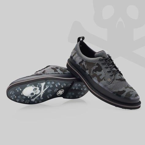 G/FORE Golf Shoes - Camo Knit Tuxedo Gallivanter - Onyx FA21