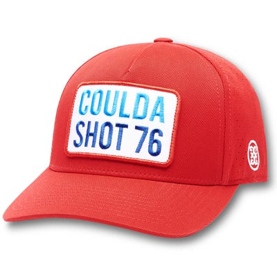 G/FORE Golf Cap - Coulda Shot 76 Snapback - Cherry 2021