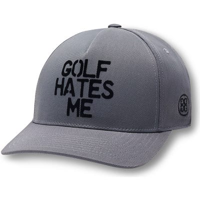 G/FORE Golf Cap - Golf Hates Me Snapback - Charcoal 2021