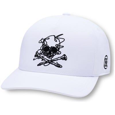 G/FORE Golf Cap - Killer T's Sketch Snapback - Snow 2021