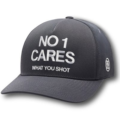 G/FORE Golf Cap - No1 Cares Snapback - Charcoal 2021
