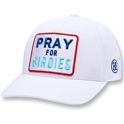 G/FORE Golf Cap - Pray for Birdies Snapback - Snow 2021