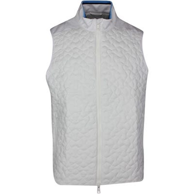 G/FORE Golf Gilet - Quilted 4.1 Vest - Snow SS21