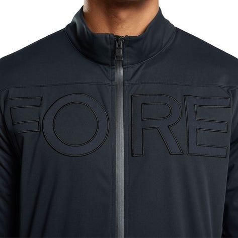 G/FORE Golf Jacket - Dry Tex Soft Shell Windbreaker - Onyx FA20